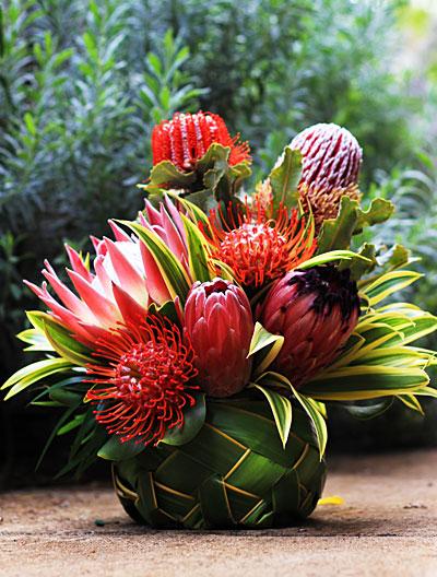 Aloha Flower Basket