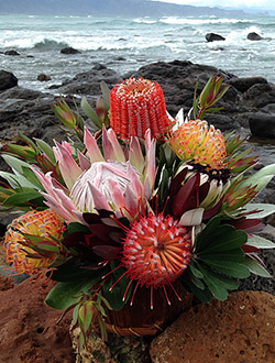 Maui Flower Basket